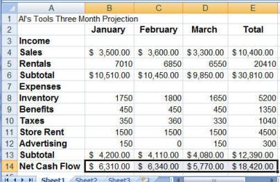 CIS110 - Excel Tutorial